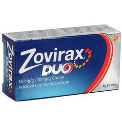 ZOVIRAX DUO 50MG/G/10MG/G